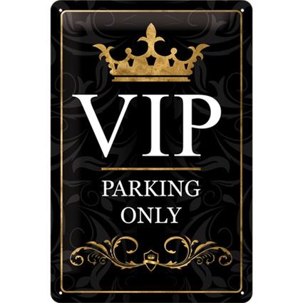 Nostalgic Art VIP Parking Only Duvar Panosu