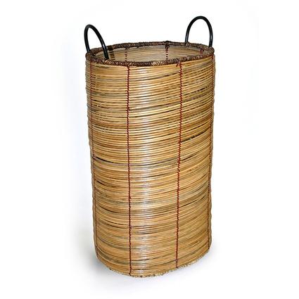 Kancaev Oval Hasır Çamaşır Sepeti