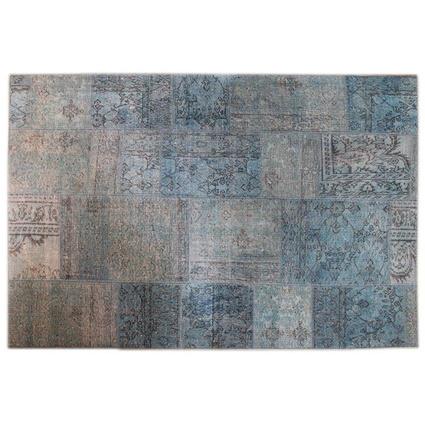 MarkaEv Patchwork Açık Mavi 155x230 Cm