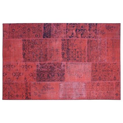 MarkaEv Patchwork Kırmızı 120x180cm
