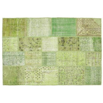 MarkaEv Patchwork Halı Yeşil 160x230 Cm