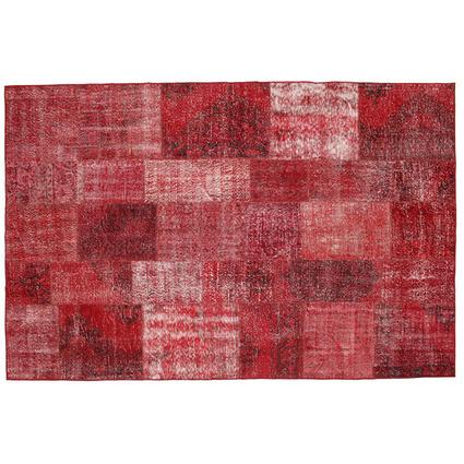 MarkaEv Patchwork Halı Kırmızı 120x180 Cm