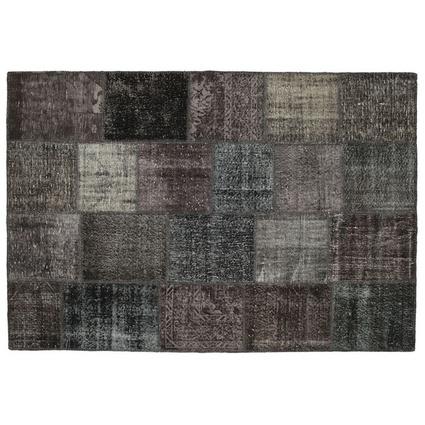 MarkaEv Patchwork Halı Siyah 160x230cm