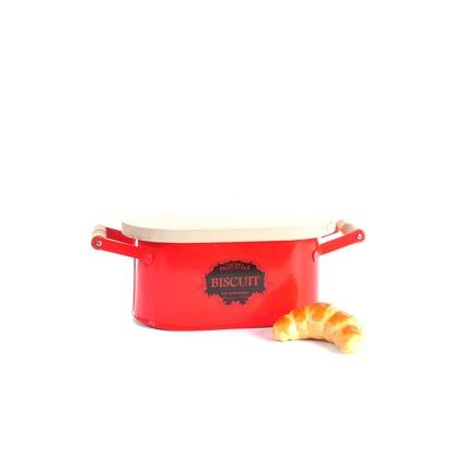 Mia Kurabiye Kabı Retro Kırmızı