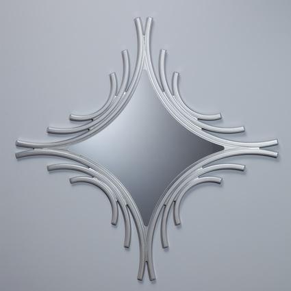 bySEHPACI Bronze Ayna Gümüş 110x110 cm