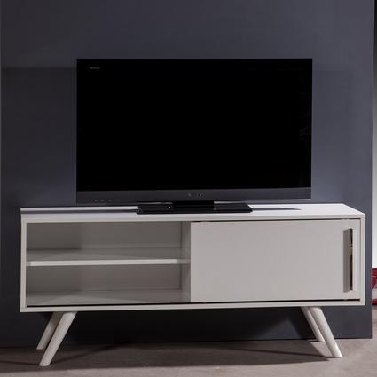 bySEHPACI Via Tv Sehpası Beyaz