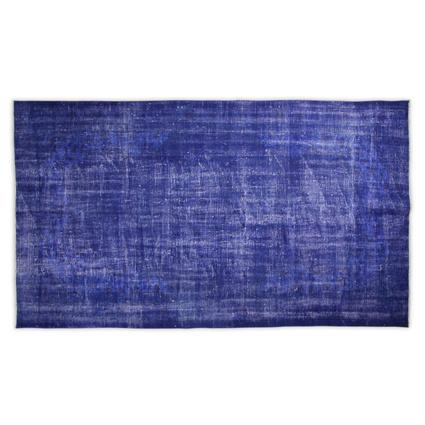 Altıncı Cadde Vintage Halı Mavi 153x276 cm