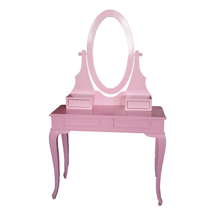3A Mobilya 3A Pink Princess Makyaj Masası