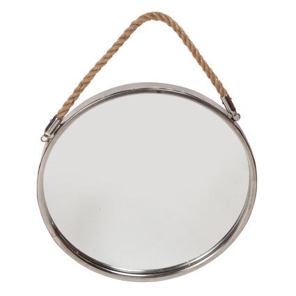 Altıncı Cadde Metal Duvar Aynası 38cm