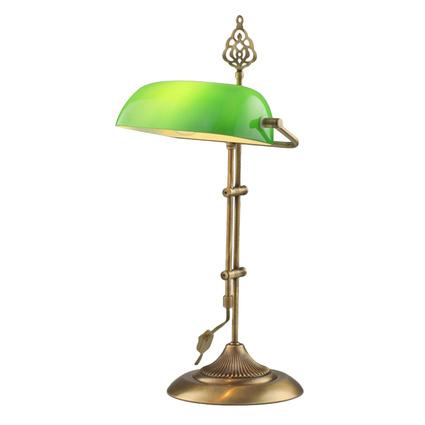Avonni Banker Masa Lambası Yeşil