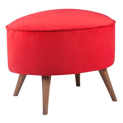 Delcatu Presido Puf Kırmızı