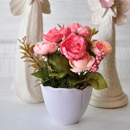 Mia Fiorina Çiçek Yaprak Lila