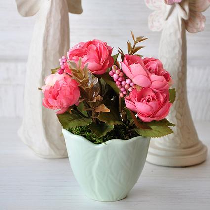 Mia Fiorina Çiçek Yaprak Yeşil