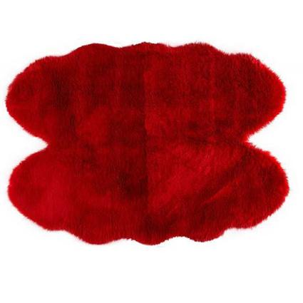 MarkaEv Kırmızı Post Peluş 150x200 Cm