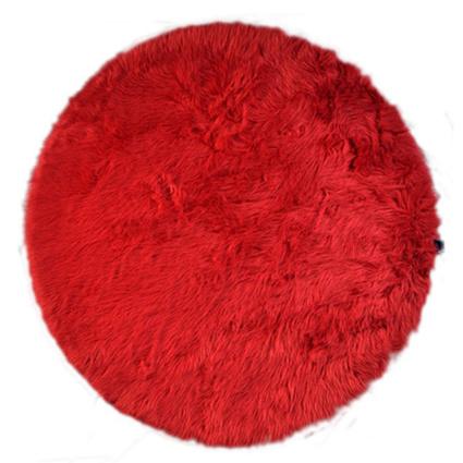 MarkaEv Kırmızı Post Peluş 145x145cm