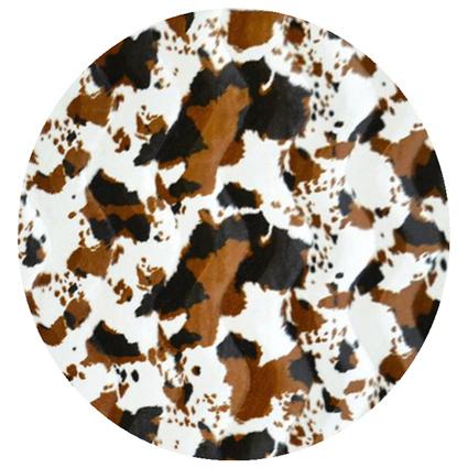 MarkaEv Zebra Halı 6208 Kahve 140x140cm
