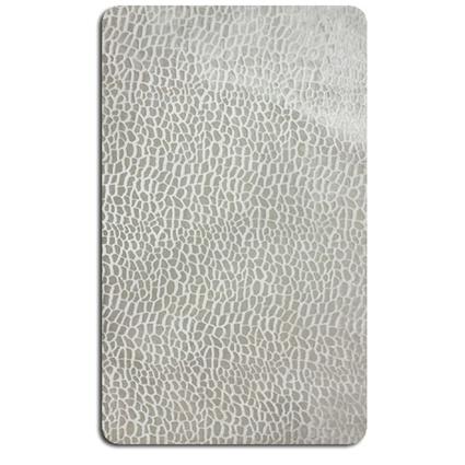 MarkaEv Royal Banyo Halısı Beyaz