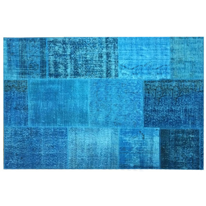 MarkaEv Patchwork Mavi 75x150 Cm
