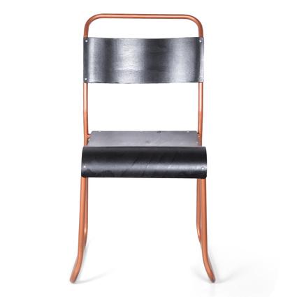 Altıncı Cadde Metal Sandalye Ahşap 45x90.5Cm