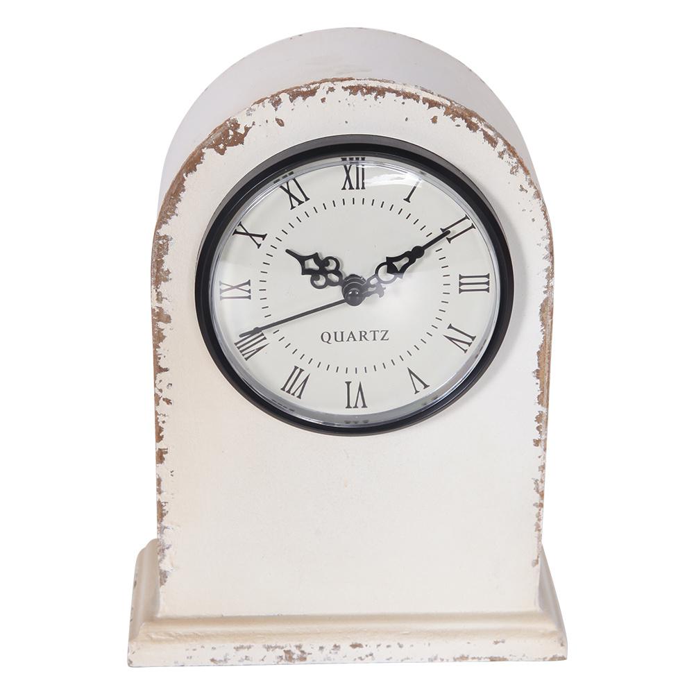 Beyaz Masa Saati 22 Cm