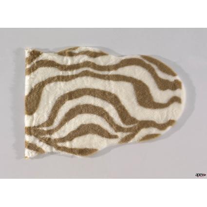 Apex Posto Yuvarlak 145x145 Cm Zebra Camel
