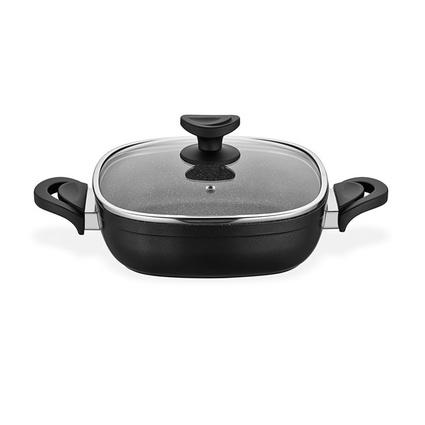 Schafer Granit Gastronomie Karnıyarık 24 Cm Siyah