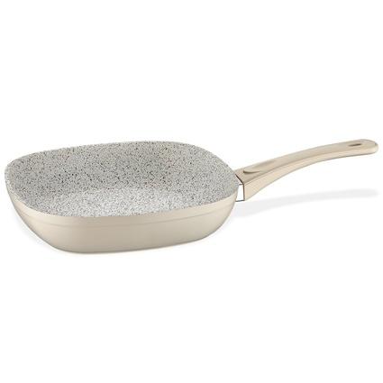 Schafer Granit Gastronomie Kare Tava 28 Cm Krem