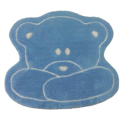 Alessia Akrilik Çocuk Paspası Teddy Mavi