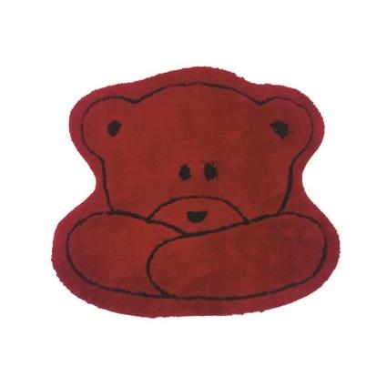 Alessia Akrilik Çocuk Paspası Teddy Kırmızı