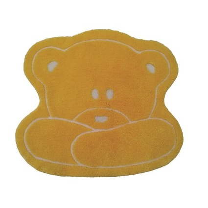 Alessia Akrilik Çocuk Paspası Teddy Sarı
