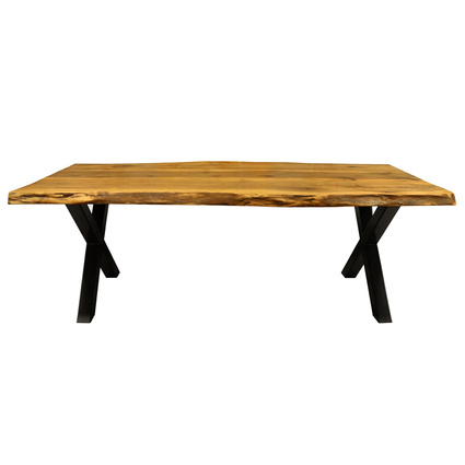 Mozilya Okyanus Ağaç Yemek Masası 220x100cm