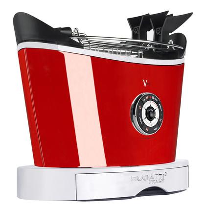 Bugatti Volo Sıcak Kırmızı Ekmek Kızartma Makinesi