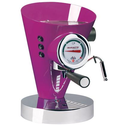 Bugatti Diva Lila Kahve Makinesi