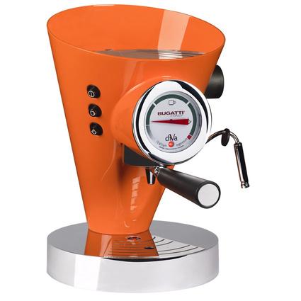Bugatti Diva Turuncu Kahve Makinesi