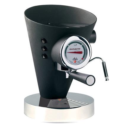 Bugatti Diva Gece Siyahı Kahve Makinesi