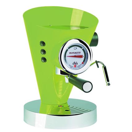 Bugatti Diva Elma Yeşili Kahve Makinesi