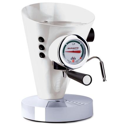 Bugatti Diva Süt Beyazı Kahve Makinesi