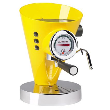 Bugatti Diva Sarı Kahve Makinesi