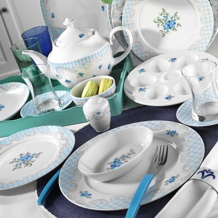 Kütahya Porselen Leonberg 8907 Desen 43 Parça Kahvaltı Takımı