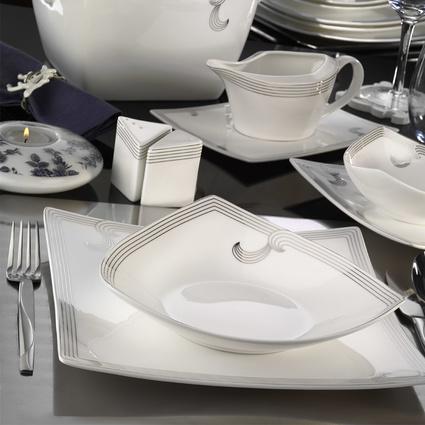 Kütahya Porselen Phaselis 83 Parça 65126 Desenli Yemek Takımı