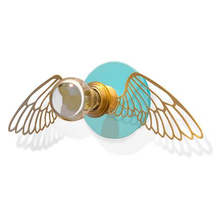Parlaq Mimarlık Angel Wing Neo Turkuaz Aplik