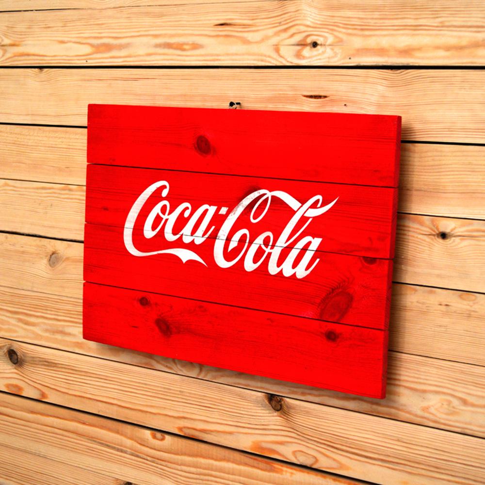 Retro Coca Cola Tablo