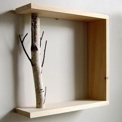 Oldwooddesign Doğal Ağaçlı Raf