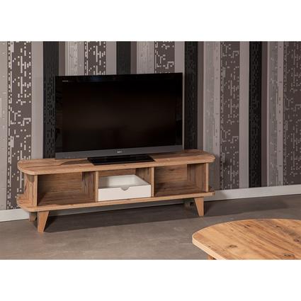 bySEHPACI 4014 Simple Tv Sehpası Atlantik Çam