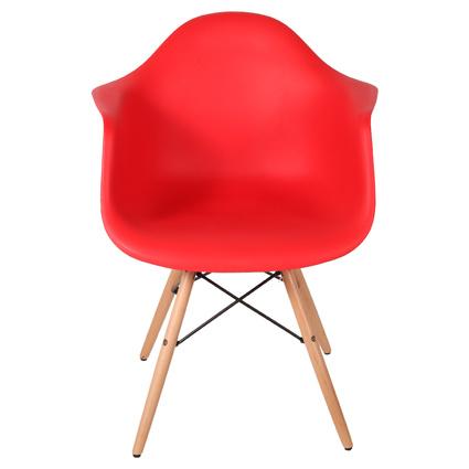 Altıncı Cadde Leon Sandalye Kırmızı Renk