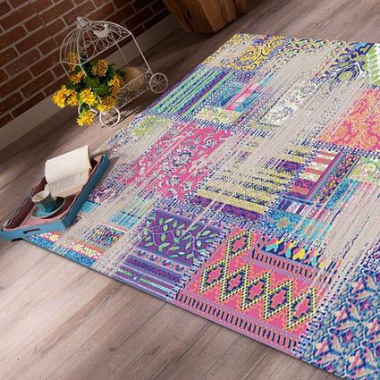 Kalamış Lavida Modern Halı Patchwork Desen A0309 - (160x235 cm)