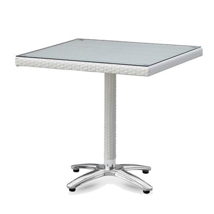 Altıncı Cadde Orbit Masa Beyaz 80x80Cm