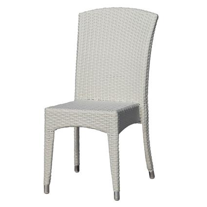 Vitello Kasilya Kolsuz Sandalye Beyaz