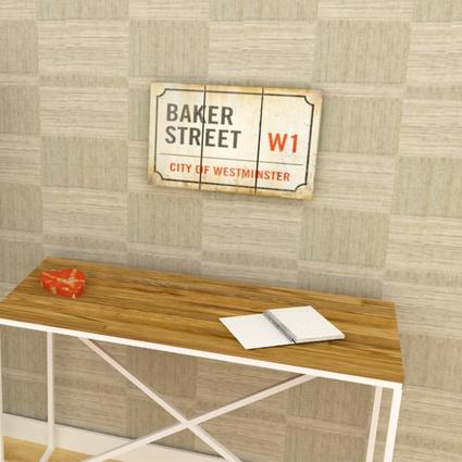 Archi Ahşap Atölyesi Ahşap Tablolar Tümü Baker Street