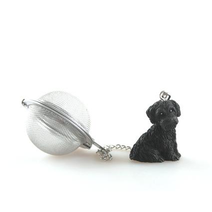 Kancaev Çay Süzgeci Siyah Köpek